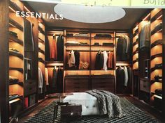 Most stylish Dressing Rooms and most beautiful Luxury Master Bedrooms from all around the world in one place! Stylish walk in closet design ideas; Men Closet, Wardrobe Closet, Closet Bedroom, Closet Mirror, Master Closet, Diy Bedroom, Walking Closet, Walking Wardrobe Ideas, Walk In Closet Design