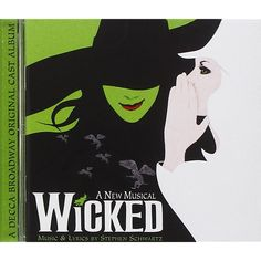 Wicked (2003 Original Broadway Cast)         ** Click on the image for additional details. (This is an affiliate link) #CDsVinyl