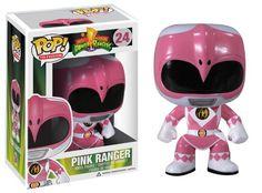 Funko POP Television: Power Rangers Pink Vinyl Figure http://popvinyl.net #funko #funkopop #popvinyl