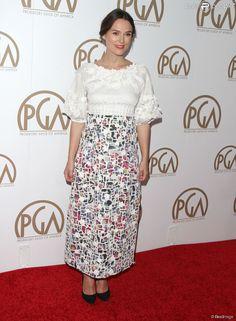 """Keira Knightley à la 26ème soirée annuelle de """"Producers Guild Of America Awards"""" à Century City, le 24 janvier 2015"""