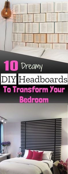 10 Dreamy DIY Headbo