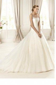 Pronovias Dolomita Wedding Dress $1,025