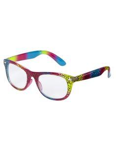 72702103c62b Zebra Print Nerd Glasses Glasses Shop