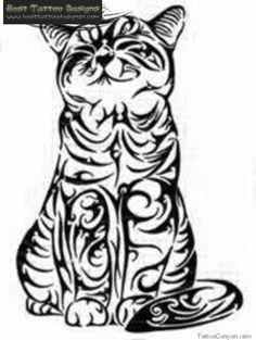 Celtic Cat Tattoo Designs Download cat tattoos best #celtic #tattoos