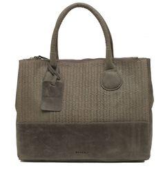 Burkely Filippa Handbag Weave 2-rits Grey