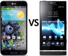 Compare LG Optimus G Pro vs Sony Xperia SL