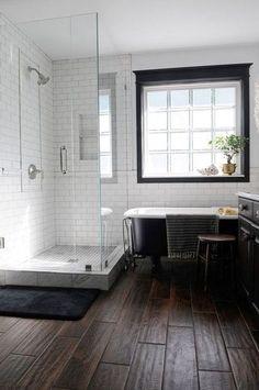Inspiration minimaliste: Salles de bains - Minimalisme et art de vivre, par Liloo.