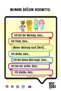 German Grammar, German Words, Grammar And Vocabulary, English Vocabulary, Deutsch Language, Germany Language, Word Poster, German Language Learning, Learn German