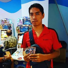 #AnimalKaiser Congratulations to the 3PM #animalkaiser #luckydraw winner - Mr Chin first time joining the tournament and win full set of special rare constellation animal cards. Sponsored by Mr K. http://ift.tt/2n2D1ZX