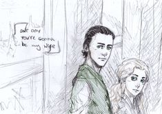 Loki and Sigyn by Sanzo-Sinclaire on DeviantArt