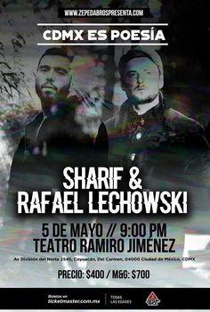 Sharif vuelve y Rafael Lechowski en El Teatro... |