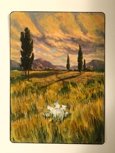 Plains Basic Land MTG Alter Hand Painted Altered Art Magic Card   eBay