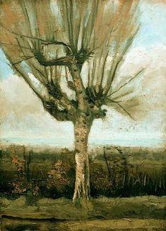 Le Saule, 1885 - Vincent Van Gogh