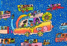 'Safe Baby Caring Car' by Mao Jin Yan, Aged 6, China: 1st Contest, Silver #KidsArt #ToyotaDreamCar