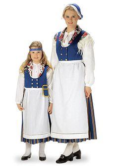Nord-Finsk folkedrakt: Munsala | Helmi Vuorelma Oy