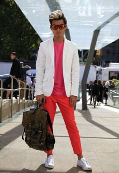 Men's street style from New York Fashion Week spring/summer 2013 - Fashion Galleries - Telegraph