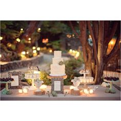 Vintage rustic cake table - only going to do one cake - but love the vibe of this!