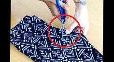 L'idée de cette vidéo est surprenante pour la rapidité et le simplicité de réalisation. Il est curieux de voir comment la forme du pantalon peut s'adapter au buste des filles grâce à son tissu.…