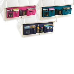 Gearbox Deluxe Bedside Caddy  sc 1 st  Pinterest & Bedside Storage Caddy - Bed Bath u0026 Beyond A place for everything ...