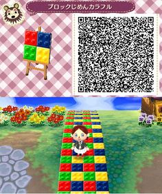 hey there my name is ari and this is my collection of cool stuff people make for animal crossing new leaf! this is mostly a resource for myself so i have a place to put all of the qr codes i find Animal Crossing Qr Codes Clothes, Animal Crossing Game, Acnl Paths, Ac New Leaf, City Folk, Danbo, Kawaii, Fairy Tales, It Hurts
