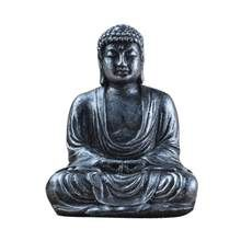 Mini Harmony Innovative Exquisite Buddha Statue Resin Valuable Sculpture Meditating Antique Style Home Decor(China) Deco Zen, Buddha Figures, Sitting Buddha, Temple Gardens, Synthetic Resin, Buddha Meditation, Animal Heads, Garden Statues, Best Christmas Gifts