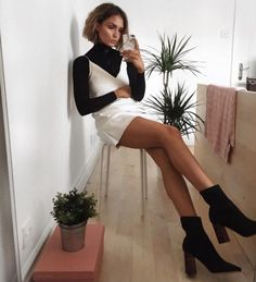 30 Super Classy & Trendy Outfit Inspirations To Wear This Year 30 Superklassige und stilvolle Outfit-Inspirationen # stylish # 2019 ich Jenner die Looks Street Style, Looks Style, Looks Cool, Style Cool, Look Fashion, Fashion Beauty, Autumn Fashion, Classy Fashion, Ootd Classy