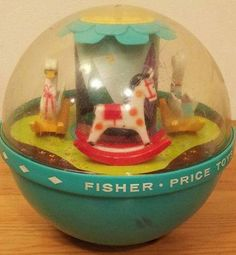 Toy Roly Poly Chime Ball Fisher Price Toys Made in USA Baby Toddler Infant Music .one of my very first memories. My Childhood Memories, Childhood Toys, Sweet Memories, 1960s Toys, Retro Toys, Fisher Price Toys, Vintage Fisher Price, Vintage Games, Vintage Toys