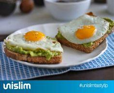 Eggacado Toast. A delicious and unique breakfast. #food #meal #healthy #recipe #breakfast #unislim