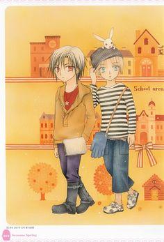 Tachibana Higuchi, Group TAC, Gakuen Alice, Gakuen Alice Illustration Fan Book, Ruka Nogi