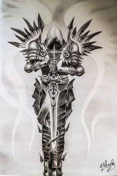 Risultati immagini per Archangel Tyrael Forearm Sleeve Tattoos, Tribal Sleeve Tattoos, Best Sleeve Tattoos, Tattoo Sleeve Designs, Sketch Tattoo Design, Tattoo Designs Men, Leg Tattoos, Angel Sleeve Tattoo, Men Tattoo Sleeves