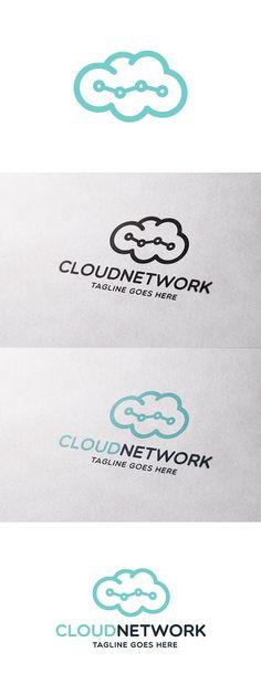 Among other things, you can use this logo for cloud storage company, data and tech company or anything IT related. Logo Templates, Color Schemes, Clouds, Prints, Design, R Color Palette, Colour Schemes, Cloud
