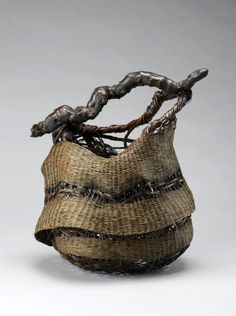 "Nagakura Kenichi (Japanese) | ""Air Cell (Ho).  Bamboo (madake variety) and bamboo root"