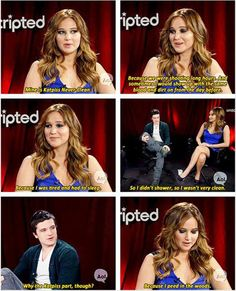 Jennifer Lawrence is awesome haha