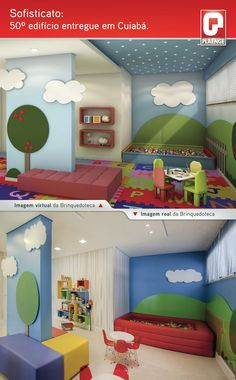 Brinquedoteca / Terreo Decorado / Kids / Playroom / Interior Design / Bohrer…