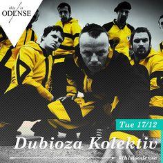 Dubioza Kolektiv. Party, punk & politics fortjener et fyldt Posten.  Læs anbefalingen på: http://www.thisisodense.dk/da/21574/dubioza-kolektiv
