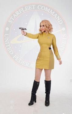 Star Trek Beyond cosplay uniform by LuirenCosplayCraft on Etsy
