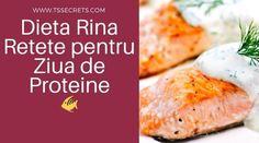 Dieta Rina Retete pentru Ziua de Proteine - T's Secrets Rina Diet, Diet Recipes, Healthy Recipes, Healthy Nutrition, Healthy Food, Meal Planning, Health Tips, Meals, Cooking