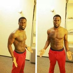 Kevin Hart try to work out for Ride along2