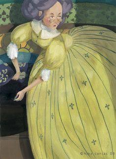 The Princess & The Pea by Nina Caniac [©2008]