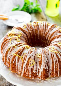 """THIS is the Lemon cake that is such a winner each time I erve it! --("""" -Super Lemon Bundt Cake - The softest, lemon-packed cake on the face of the earth. If you are a lemon lover, this will be your new favorite! Lemon Desserts, Lemon Recipes, Delicious Desserts, Cake Recipes, Dessert Recipes, Italian Desserts, Limoncello Cake, Lemon Bundt Cake, Pound Cake"""