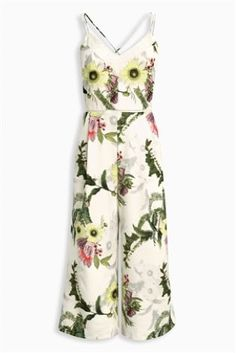 Jumpsuits are SO in right now, so make sure your wardrobe is up to date with this floral number.