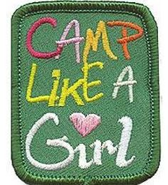 I have this girl scout patch!