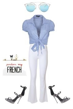 """Do you do you St Tropez"" by talkaboutscilla on Polyvore featuring mode, J Brand, QED London, Giuseppe Zanotti, Christian Dior et Cecilia Ma"