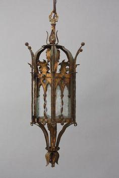 5692. Spanish Revival Pendant, Antique Chandeliers, Antique and Spanish Revival Lighting: Sconces,Chandeliers etc. at Revival Antiques