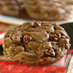 Take these decadent mint brownie cookies to your next bake sale. Great for family treats too.