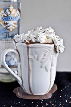 """Grown Up"" Hot Chocolate   15 Amazing Ways To Spike Hot Chocolate"