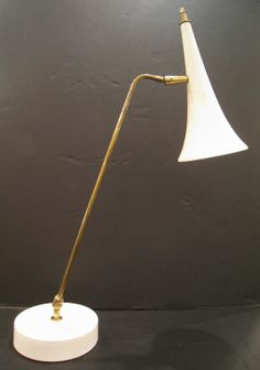 Italian Desk Lamp , O'Luce   From a unique collection of antique and modern table lamps at http://www.1stdibs.com/furniture/lighting/table-lamps/