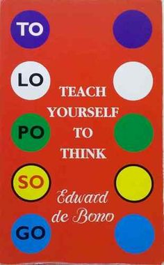 First edition Teach Yourself to Think by Edward de Bono good used cond paperback Forensic Psychology, School Psychology, Self Empowerment, Behavioral Therapy, Autism Spectrum Disorder, Strategic Planning, Forensics, Used Books, Critical Thinking