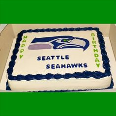16 Best Seattle Seahawks Cakes Images In 2019