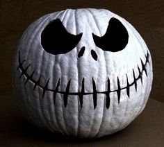 Our Jack Skellington pumpkin